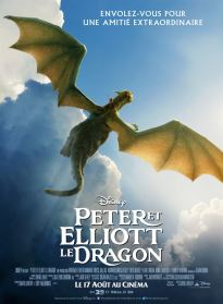 Peter et Elliott le dragon - affiche