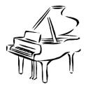 piano - coloriage-piano-a-queue-p8723
