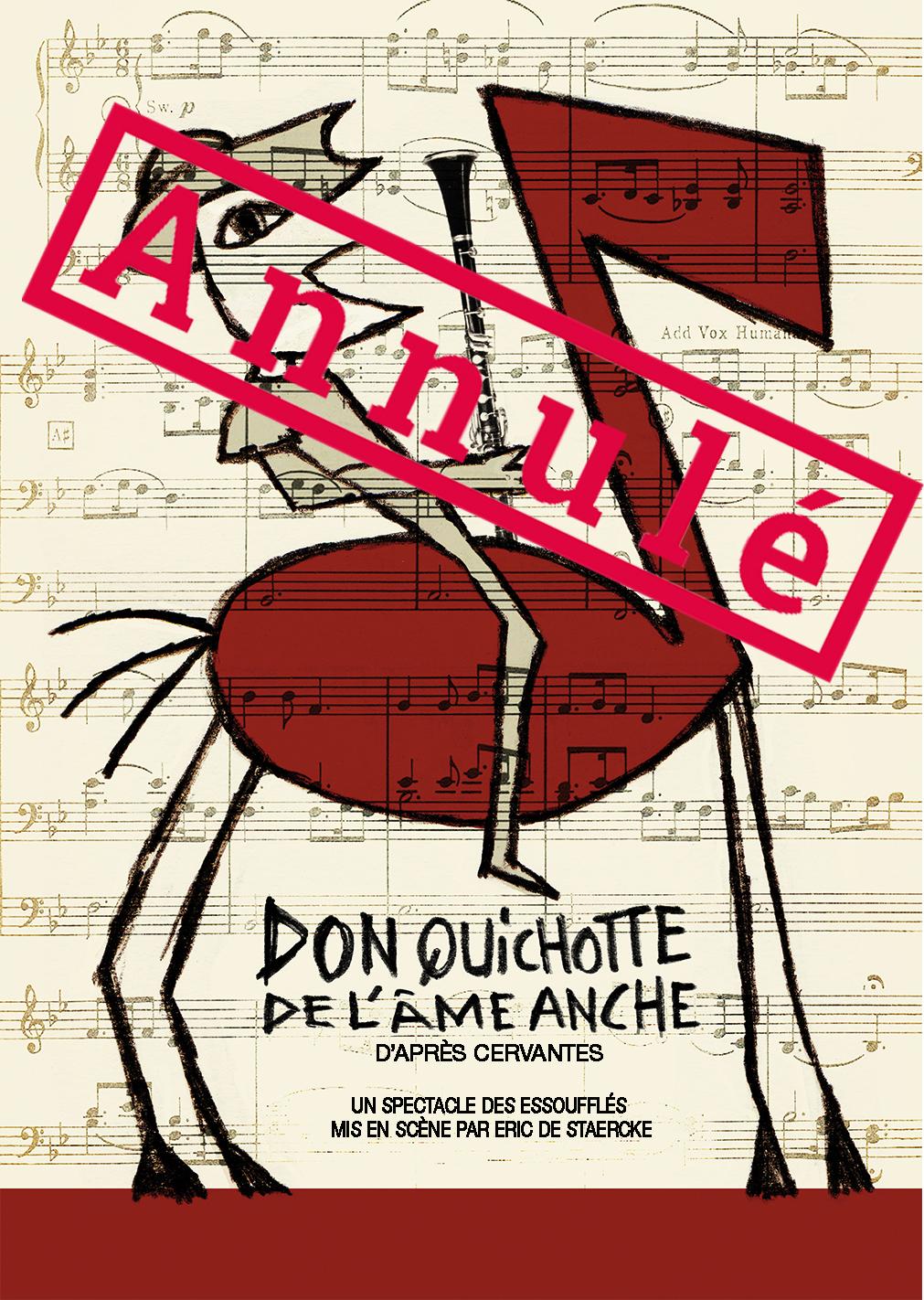 affiche Don Quichotte - annulé