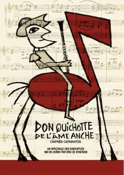 affiche Don Quichotte de l'âme anche